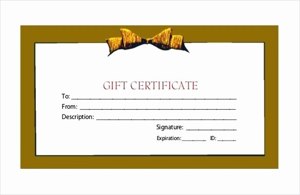 Fitness Gift Certificate Template Awesome Certificate Template Fitness Classic Image Gift Free