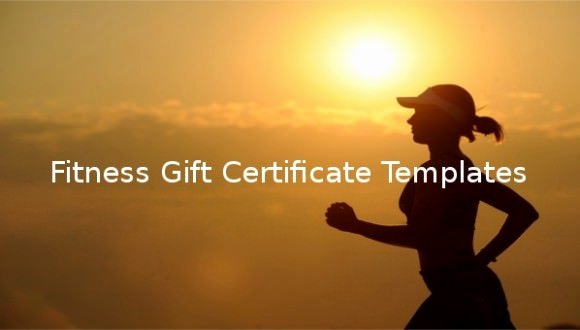 fitness t certificate