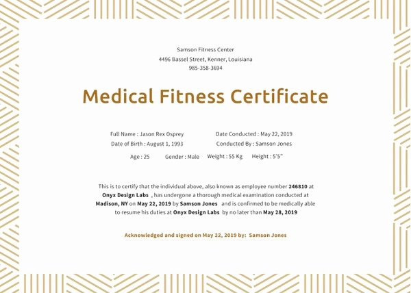 Fitness Gift Certificate Template Best Of 10 Fitness Gift Certificate Templates Doc Pdf