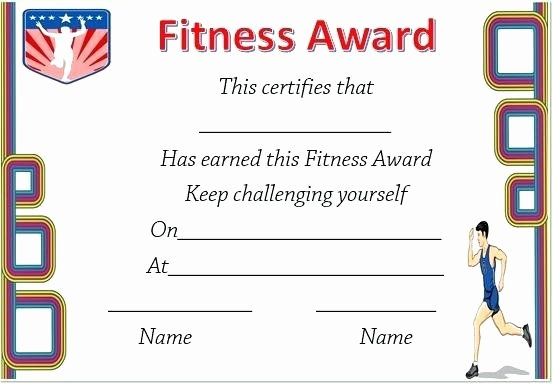 Fitness Gift Certificate Template Best Of Fitness Certificate Template – Ustam