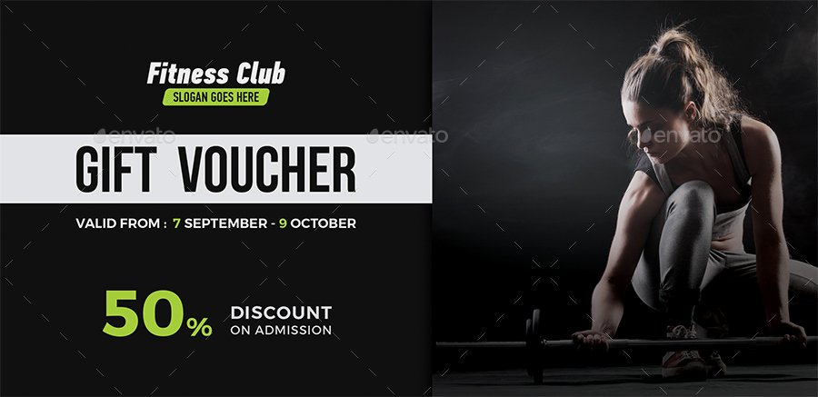 Fitness Gift Certificate Template Best Of Fitness Gift Voucher by themedevisers