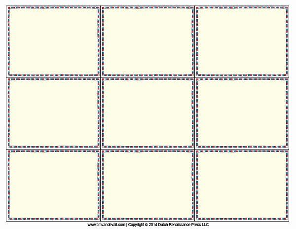 Flash Card Template Pdf Fresh Blank Flash Card Templates Printable Flash Cards