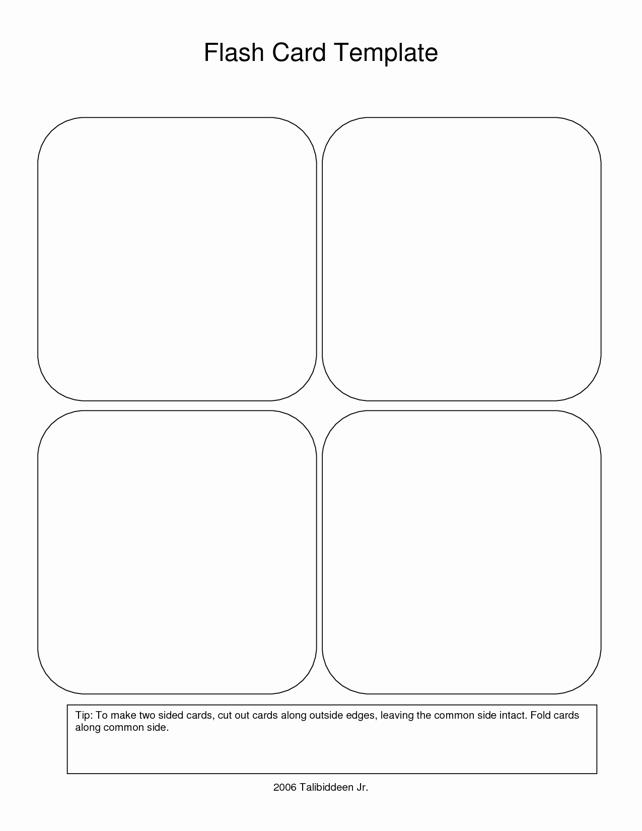 Flash Card Template Pdf Unique Flash Card Template Beepmunk