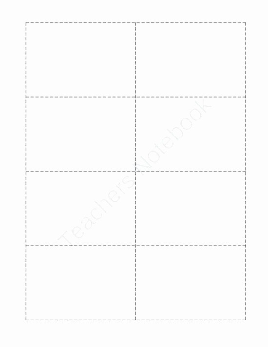 Flash Card Template Word Best Of Blank Flash Cards Word Template Printable Index Card Free