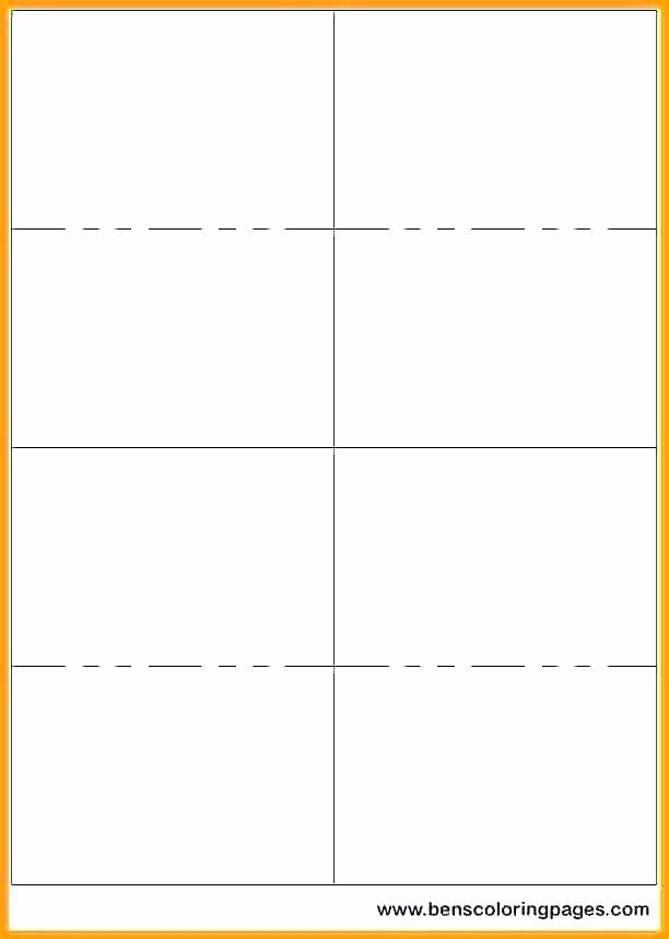 Flash Card Template Word Luxury Blank Flashcard Template Microsoft Word Flashcards Flash