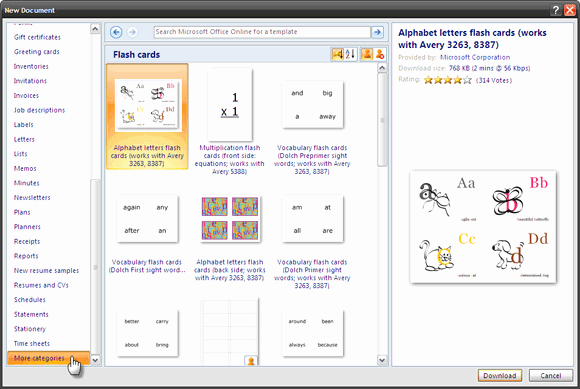Flash Card Template Word Luxury How to Make Index Cards In Microsoft Word 2007