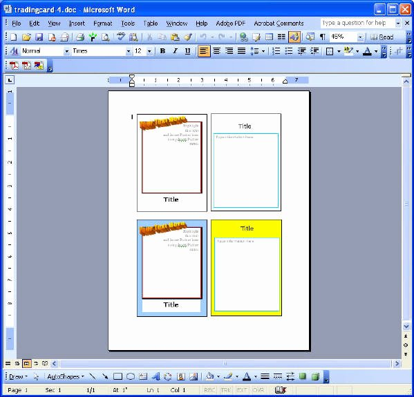 Flash Card Template Word New Microsoft Word Card Template 2×2 Vocabulary Flash Card