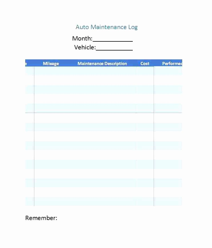 Fleet Vehicle Maintenance Log Template Inspirational Download by Vehicle Maintenance Log Book Template Sample