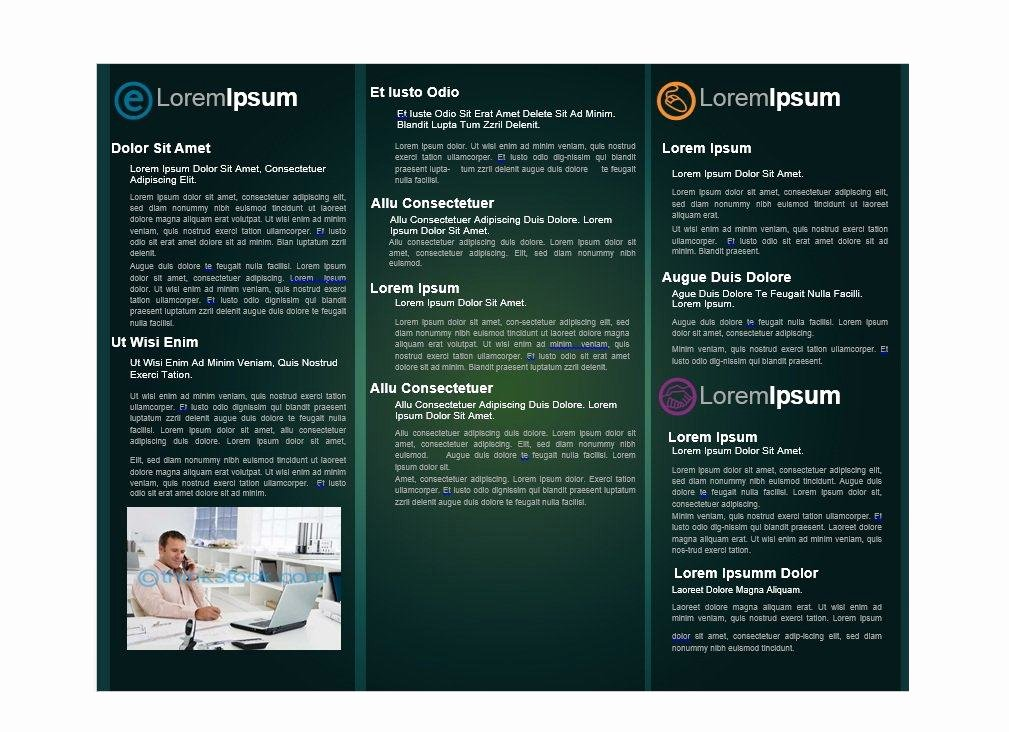 Flyer Template Free Word Inspirational 31 Free Brochure Templates Ms Word and Pdf Free