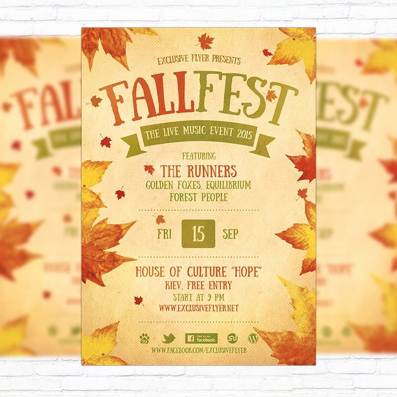Flyer Template Free Word Luxury Fall Festival Flyer Template Printable Flyers In Word