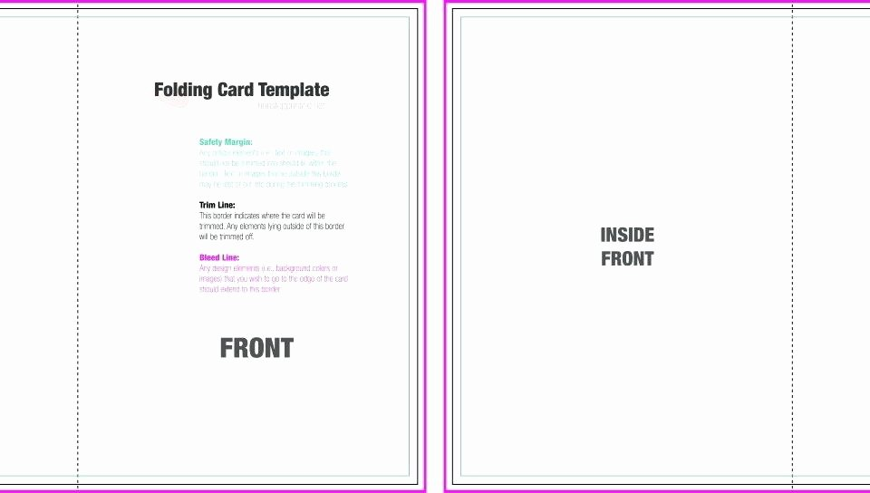 Foldable Business Card Template Awesome Foldable Card Template Word – Spitznasfo