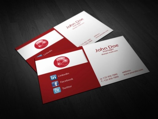 Foldable Business Card Template Unique 22 Folded Business Cards Psd Ai Vector Eps