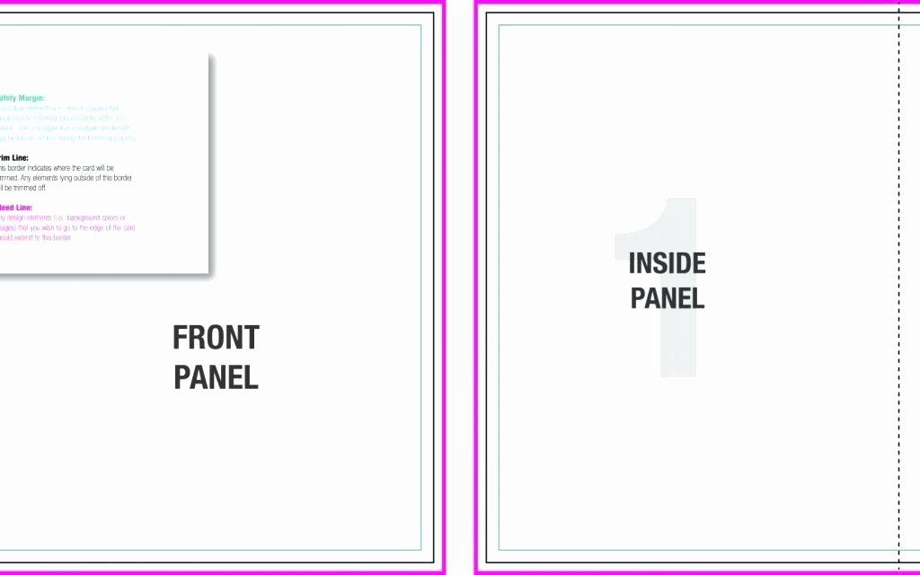Folded Business Card Template Awesome Tri Fold Business Card Template Word How to Print Brochure