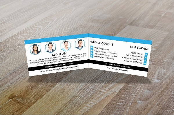 Folded Business Card Template Fresh 36 Modern Business Card Templates Pages Psd Word Ai