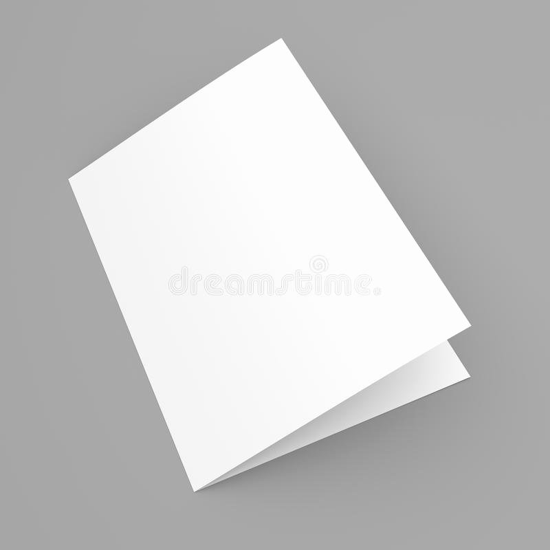 Folded Business Card Template Fresh Blank Folded Flyer Booklet Postcard Business Card