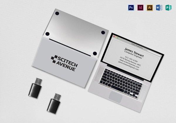 Folded Business Card Template Inspirational 22 Folded Business Cards Psd Ai Vector Eps