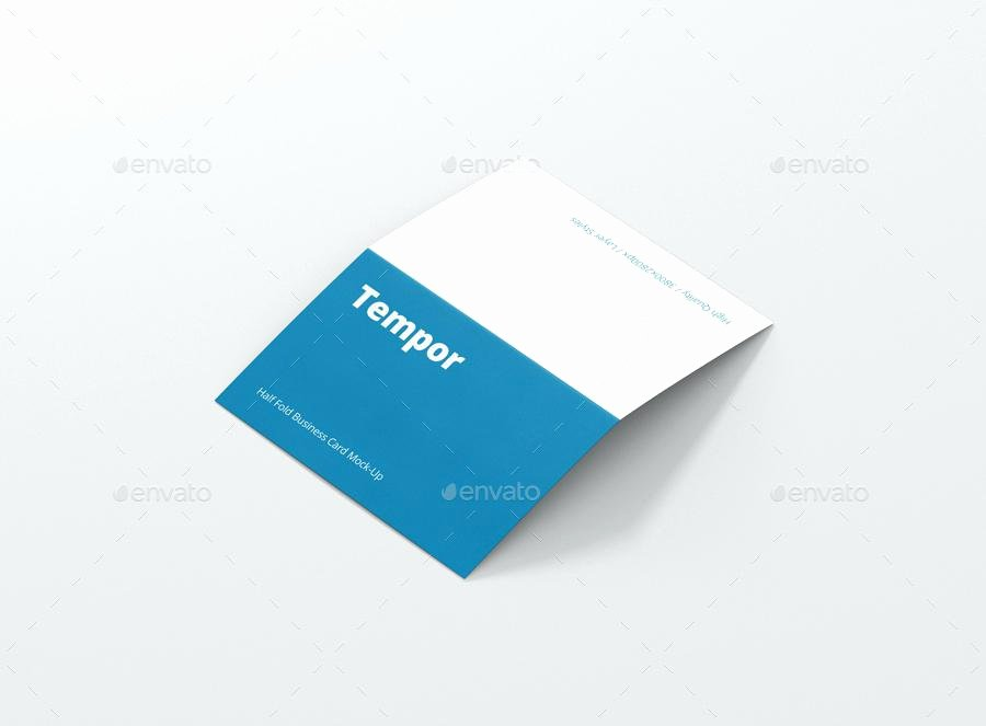 Folded Business Cards Template Fresh Bi Fold Card Template Business Square 2 Greeting Free Word