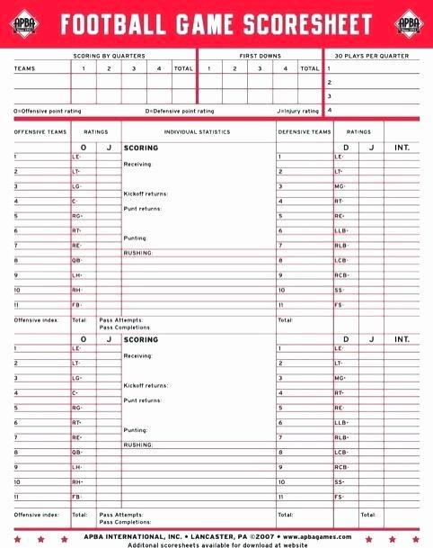 Football Depth Chart Template Excel Luxury Football Statistics Template – Claff