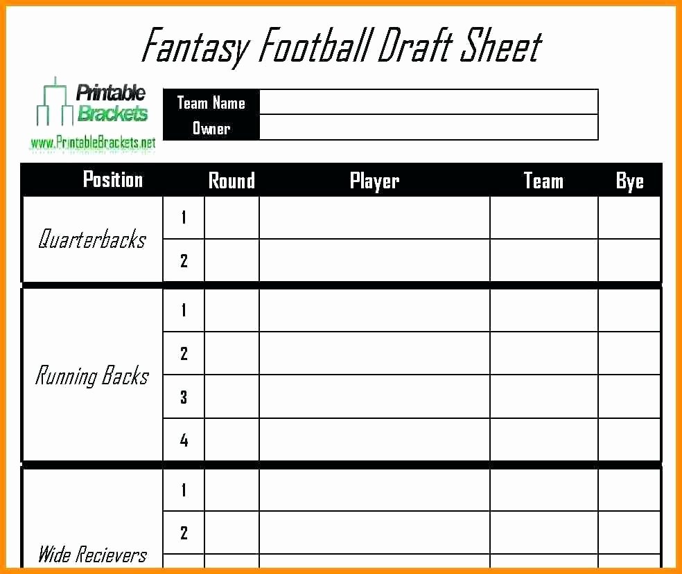 Football Depth Chart Template Excel Unique Football Depth Chart Template Excel format Templates Station