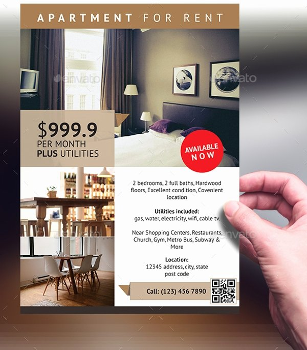 For Rent Flyer Template Free Awesome Apartment Rental Flyers Latest Bestapartment 2018