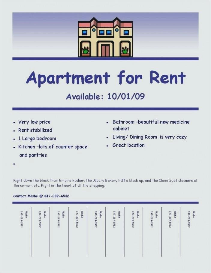 For Rent Flyer Template Free Beautiful Rent Flyer Rental Template Free Property – Vraccelerator
