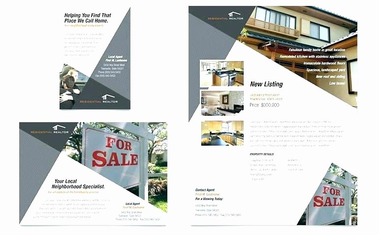 For Rent Flyer Template Free Inspirational Rent A House Website Template Real Estate Templates