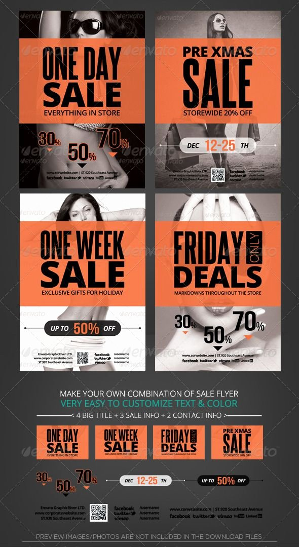 For Sale Flyer Template New Store Sale Flyer Template