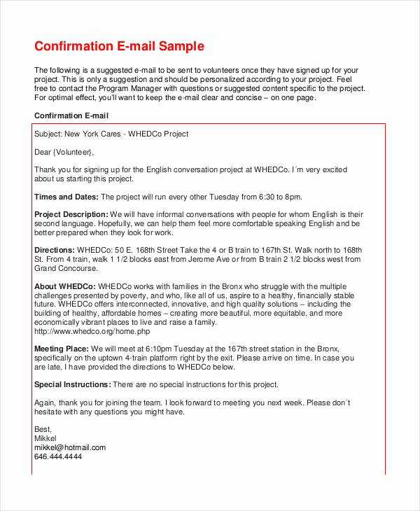 Formal E Mail Template Elegant 5 formal Email Examples and Samples Pdf Word