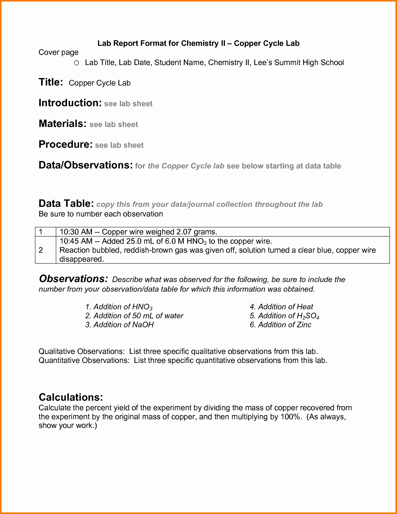 Formal Lab Report Template Lovely Bacteriology Lab Report