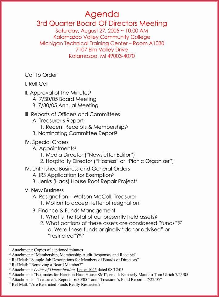 Formal Meeting Agenda Template Fresh formal Meeting Agenda Template 12 Best Samples for Word