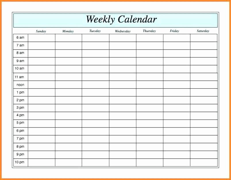 Free Appointment Calendar Template Elegant Printable Weekly Appointment Calendar 2014 Schedule