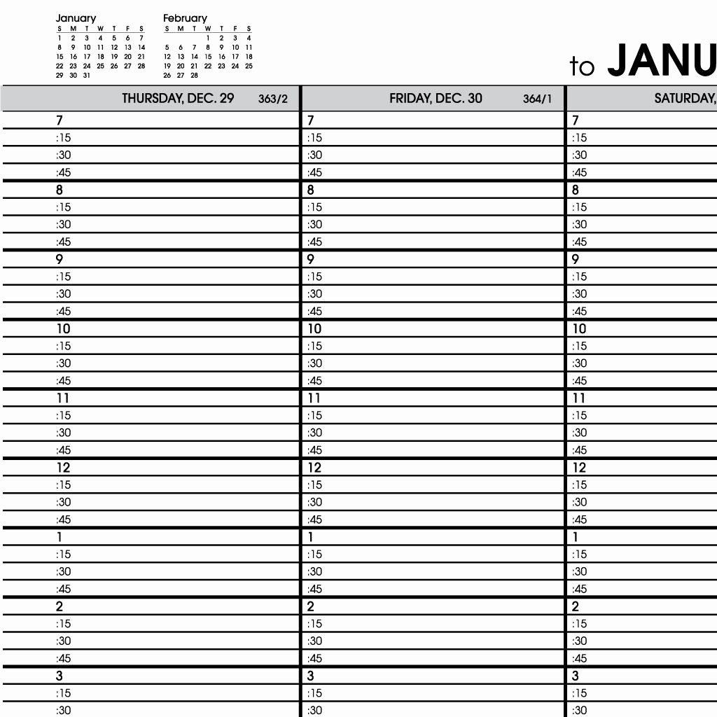 Free Appointment Calendar Template Unique New Design Daily Appointment Calendar