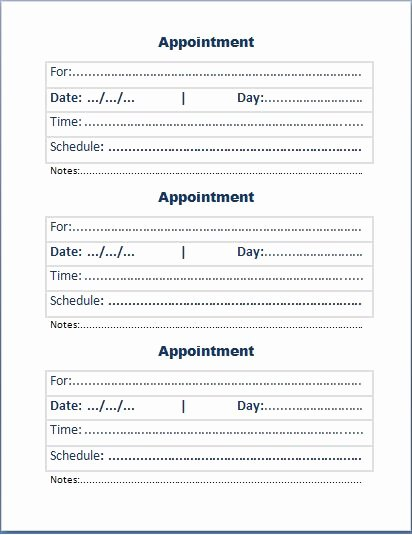 Free Appointment Card Template Awesome Index Of Cdn 29 1991 980
