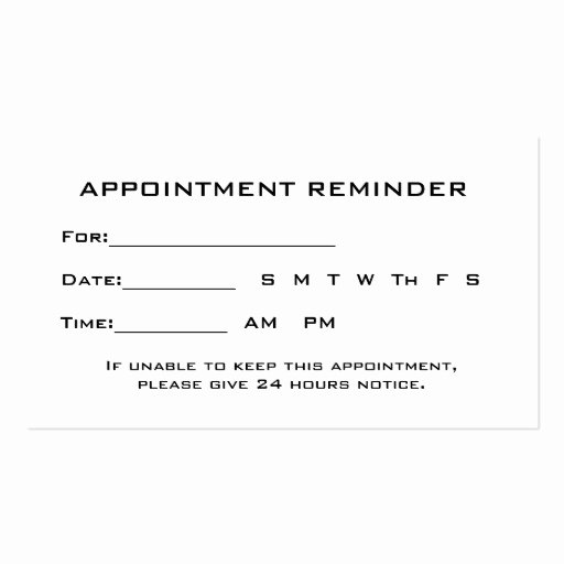 Free Appointment Card Template Beautiful Eye Exam Appointment Reminder Heart Shaped Hands Business