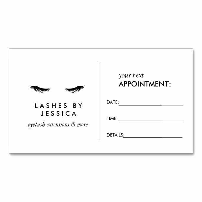 Free Appointment Card Template Best Of Appointment Business Card Templates A Collection Of Ideas