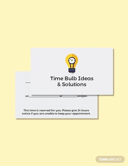 Free Appointment Card Template Fresh Free Blank Card Template Download 223 Cards In Psd