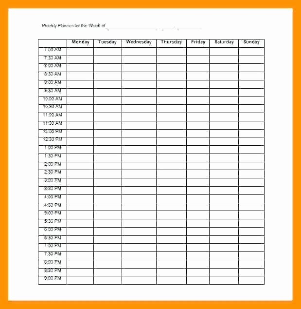 Free Appointment Schedule Template Awesome Appointment Template Printable Daily Book Templates Free