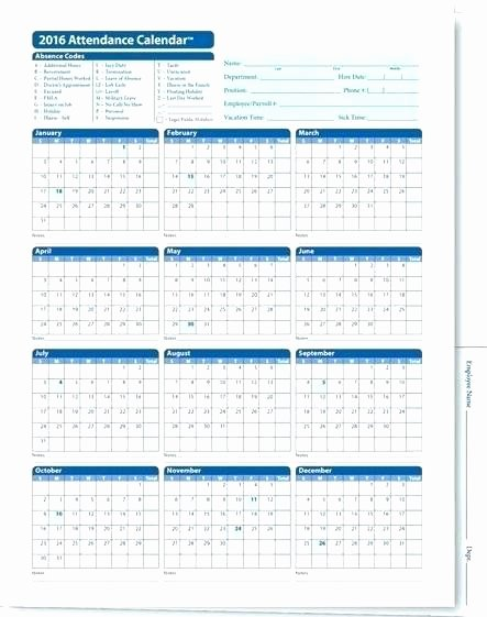Free attendance Tracker Template Fresh Employee Absence Tracking Excel Template Time
