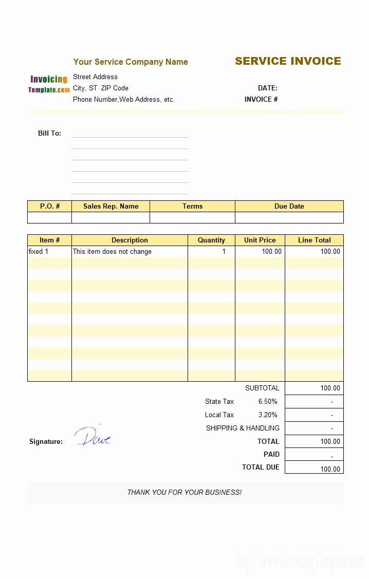 Free Billing Invoice Template Elegant 20 Microsoft Fice Invoice Templates Free Download
