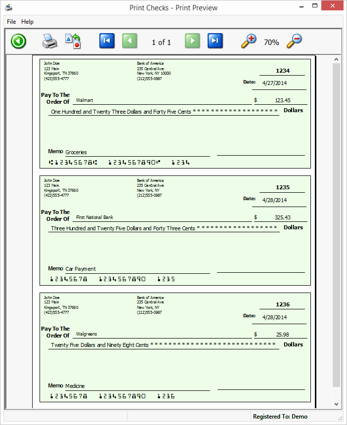 Free Business Check Printing Template Unique Business software Free Downloads Filebuzz Download
