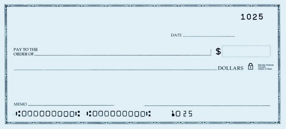 Free Business Check Printing Template Unique Printable Personal Blank Check Template