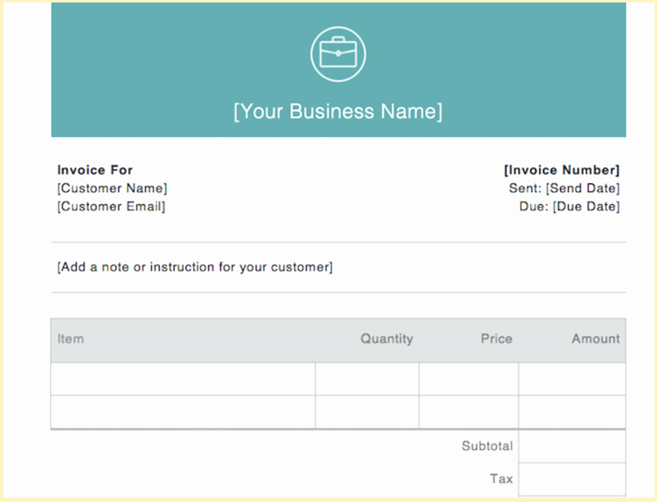 Free Business Invoice Template Inspirational Invoice Examples for Every Kind Of Business