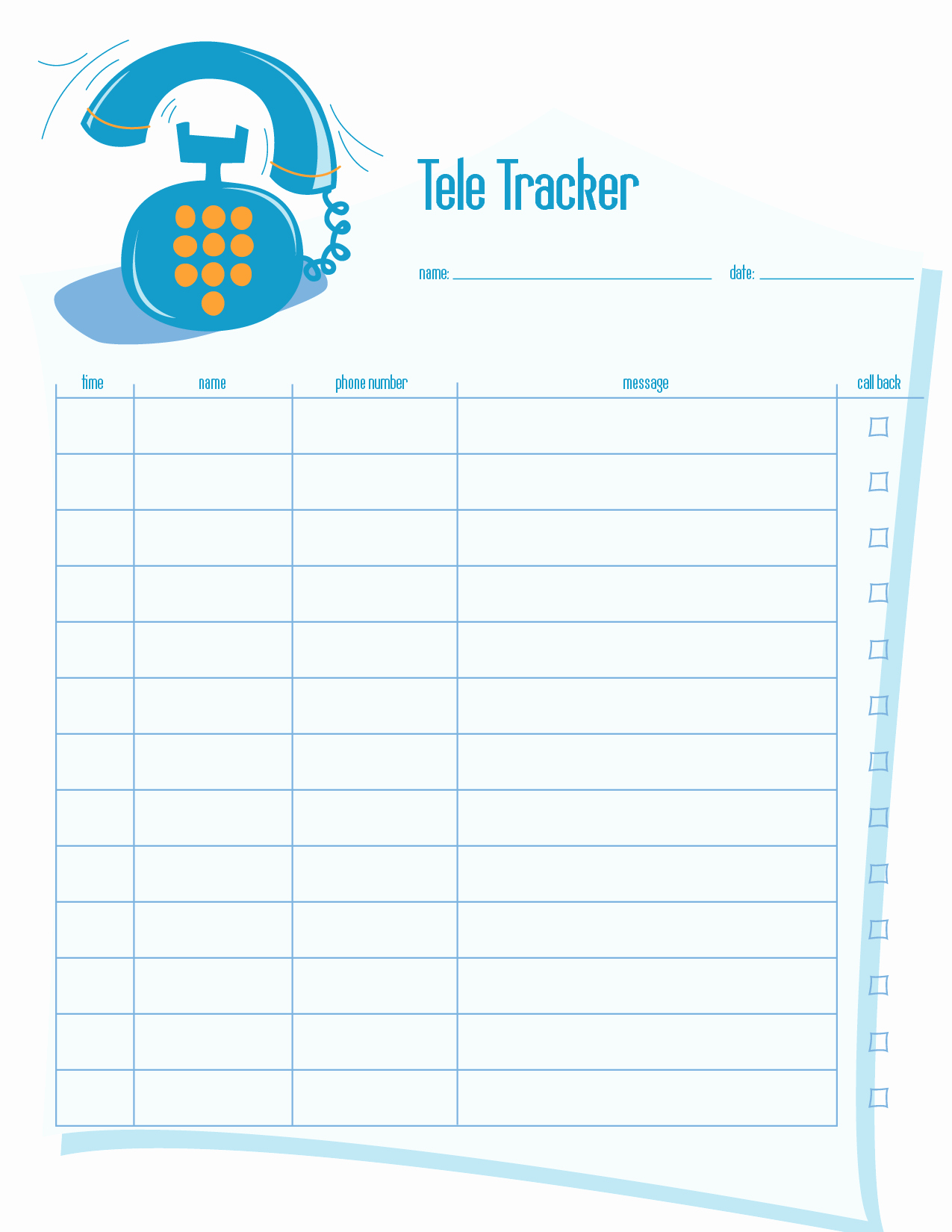 Free Call Log Template Unique Phone Call Log Printable to Pin On Pinterest