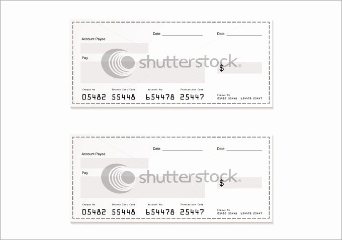 Free Check Printing Template Awesome Blank Check Template – 30 Free Word Psd Pdf & Vector