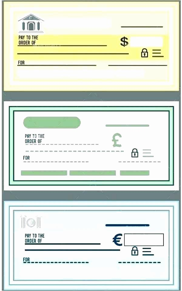 Free Check Printing Template Beautiful Cheque Template Download Blank Check In Vector format