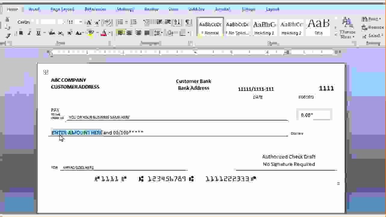 Free Check Printing Template Elegant Make Printable Check Stubs Freeml