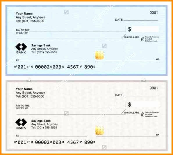 Free Check Printing Template Luxury 100 Microsoft Word Personal Check Template Download