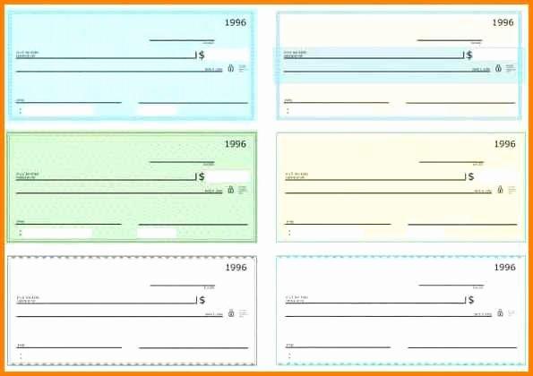 Free Check Printing Template New Blank Checks Pdfeck Template Pdf Blank Check Template