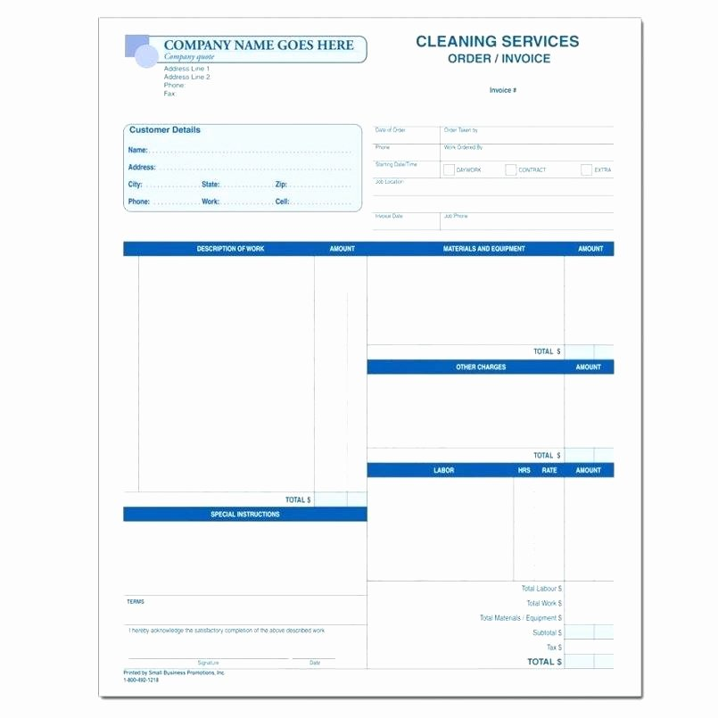 Free Cleaning Invoice Template Inspirational Cleaning Service Invoice Template Free for Carpet Stores