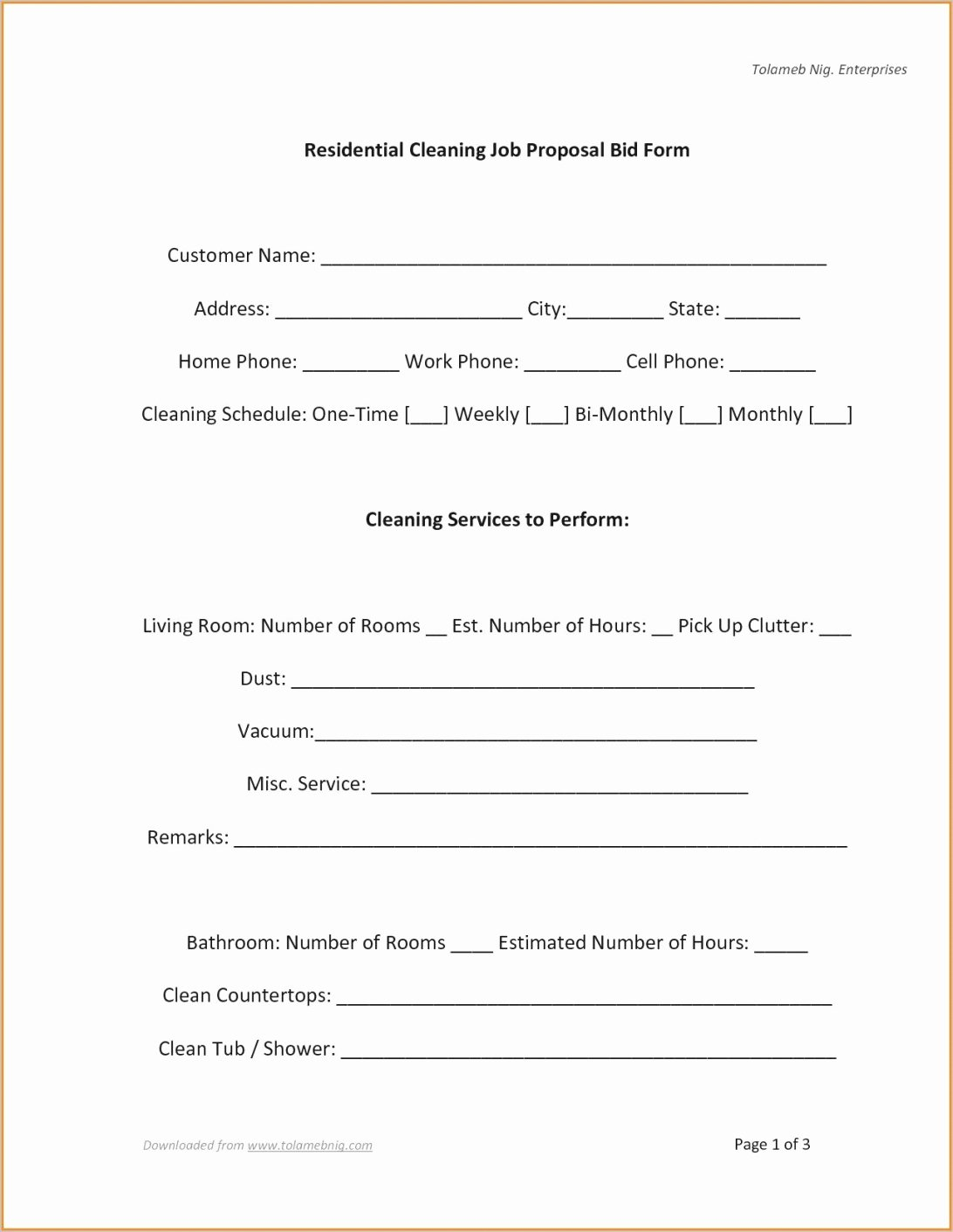 Free Construction Proposal Template Pdf New Bid Proposal Template Pdf Lavanc